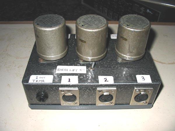 Gardner Audio Transformer Info